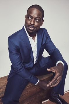 sterling k. brown ( male, african american, b. Sterling K Brown, Beautiful Men, Beautiful People, Brown Suits, Best Dressed Man, Black Actors, The Jacksons, Dapper Gentleman, Fine Men
