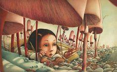 Alicia en el País de las Maravillas de Lewis Carroll - Ilustraciones de Rebecca Dautremer. Edelvives, España, 2011