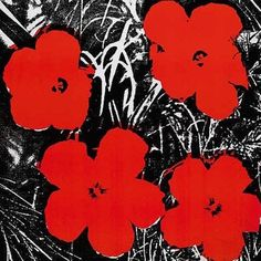 Andy Warhol  Flower Painting, 1964  info@guyhepner.com http://www.guyhepner.com   #andywarhol