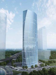 Chitaland Tower at Satrio CBD, South Jakarta / Office / 40 floors + 5 basements / Proposed
