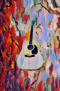 Fender Acoustic, Music Images, Painting, Art, Art Background, Painting Art, Kunst, Paintings, Performing Arts