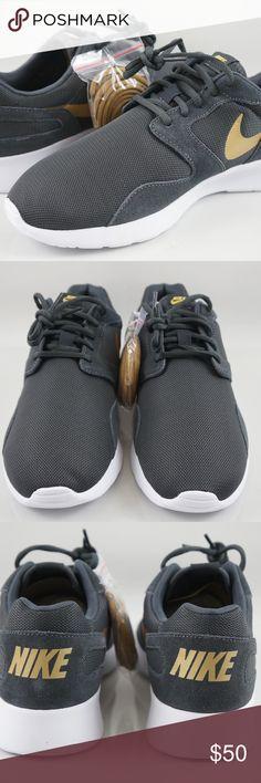 official photos 3453d 812fe Nike Kaishi Grey Anthracite Gold Running Shoes 12 ITEM  Nike Kaishi Grey  Anthracite Gold Women s