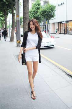 the-streetstyle:  Minimal Simple Cardiganvia stylenanda