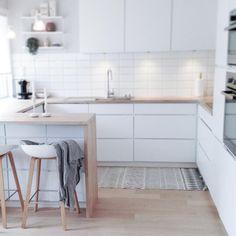The Best Kitchen Desing Minimal Kitchen, Smart Kitchen, Kitchen On A Budget, New Kitchen, Kitchen Decor, Kitchen Benches, Scandinavian Kitchen, Cuisines Design, Küchen Design