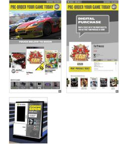 Retail: User Experience - Digital Touchscreens by Brendan Finnegan, via Behance