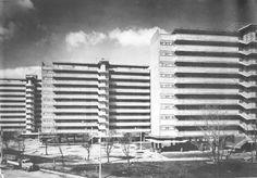 Multifamiliar Juárez, Calle Orizaba, Roma Sur, México, DF 1952 Arqs. Mario Pani y Salvador Ortega Flores Multifamilar Juarez, Roma Sur, Mexico City, 1952
