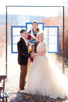 Through All of Space + Time { Doctor Who Inspired Wedding Day } ~ watch the video near the bottom of the page, brought a tear to my eye <3