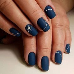 ✅ nude nail polish Signal 25 New Year's manicure ideas series of these ideas # note # ideas # manicure # new year Nail art; – img) Would you like to see new nail art? These nail designs are … Navy Blue Nails, Black Nails, Nail Art Blue, Blue Gel Nails, Black Manicure, Pink Nail, White Nail, Blue Art, New Years Nail Art