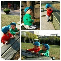 Superman is Back or Superman Returns (슈퍼맨이 돌아왔다).. cutest twin in korea :p