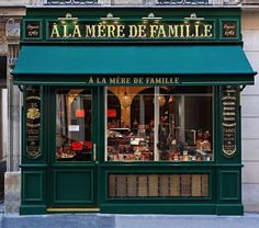 A La Mère de Famille - A new A La Mère de Famille candy shop has just opened in  at 70 Rue Bonaparte, Paris, France VI.  The original store on the Rue du Faubourg Montmartre, was founded in 1761, over 250 years ago!