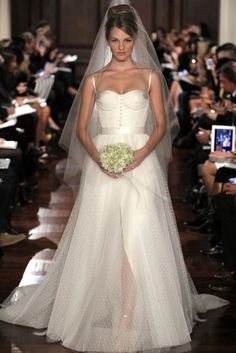 This dress by Romona Keveza is stunning! I don't know how much I like it as a wedding dress though.