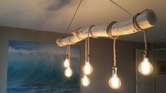 undefined undefined The post undefined appeared first on Lampen ideen. Driftwood Chandelier, Industrial Chandelier, Ceiling Fixtures, Light Fixtures, Ceiling Lights, Farmhouse Lighting, Rustic Lighting, Crochet Lamp, Rustic Restaurant