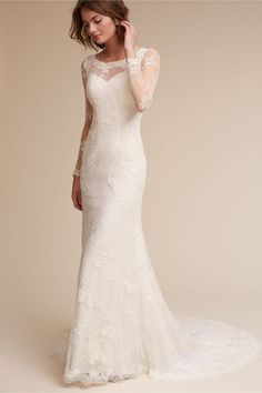 This gorgeous BHLDN wedding dress is part of their spring sale! Anya Gown by BHLDN