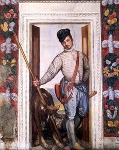 Paolo Veronese, Portrait of a Nobleman in Hunting Attire, c. 1560-1