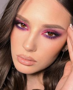 Makeup Eye Looks, Glam Makeup Look, Creative Makeup Looks, Cute Makeup, Eyeshadow Looks, Skin Makeup, Makeup Art, Mua Eyeshadow, Classy Makeup
