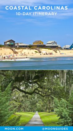 Discover the best of coastal North and South Carolina with this 10-day travel itinerary. Enjoy historic sights like the USS North Carolina and Fort Sumter, gorgeous beaches at Nags Head and Myrtle Beach, and find solitude in nature at Kiawah Island or Brookgreen Gardens. Plan your visit with the best of where to go, things to do, and where to eat along the way.