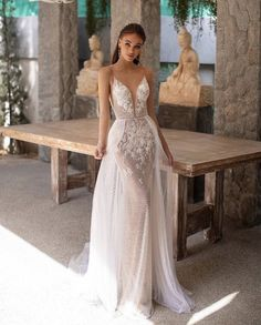 Couture Wedding Dresses You Will Instantly Fall In Love With - fall wedding dresses Big Wedding Dresses, Making A Wedding Dress, Amazing Wedding Dress, Boho Wedding Dress, Designer Wedding Dresses, Gypsy Wedding, Lace Wedding, Mustard Bridesmaid Dresses, Multiway Bridesmaid Dress