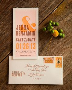 Set the tone for a casual country celebration with this design inspired by vintage letterpress posters.  Dauphine Press