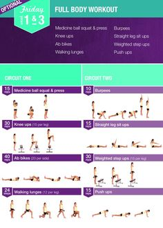 Bikini body guide full body workout friday 1 & 3