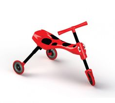 Scuttlebug Ladybird in Red/Black - Toddler Folding Trike All Toys, Toys R Us, Ride On Toys, Kids Store, Tricycle, Bugs, Action Figures, Red Black, Gift Ideas
