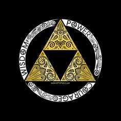 Super LikeLikes: Zelda - triforce circle Tshirt Print Design by Art et Be The Legend Of Zelda, Legend Of Zelda Tattoos, Logo Tigre, Tattoos Schulter, Image Zelda, Master Sword, Retro Tattoos, Skyward Sword, Link Zelda
