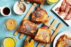 Peanut Butter, Bacon, and Banana French Toast Sandwiches | Joy the Baker