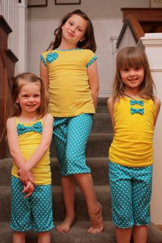 Summer PJs {Kids Clothes Week}