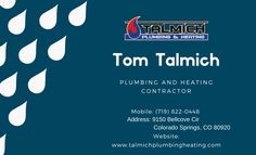 Yes, if you are looking for the right plumber Colorado Springs in Colorado Springs, CO area then you need to remember Talmich Plumbing and Heating Company. Slow Drain, Water Heater Service, Residential Plumbing, Garden Sprinklers, Heating And Plumbing, Plumbing Problems, Sump Pump, Bathtub Shower, Busy Life