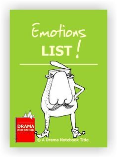 List of 45 distinct emotions ready to print and cut apart, plus five drama activities using emotions and a bonus activity that encourage students to use emotions authentically.