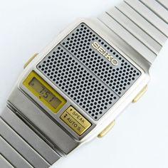 Seiko A966. Digital LCD Talking Watch. 1982