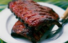 Chinese char siu ribs are a brilliant bright red color thanks to a delicious sauce. You need to get to know them on an intimate level.