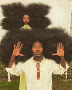 New images of Benny Harlem , his daughter and their iconic pure hair - Dot News