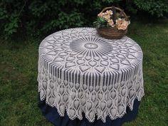 crochet tablecloth patterns | Crochet Free Pattern Pineapple Tablecloth | Crochet Guild
