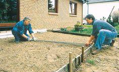 Bodenplatte betonieren: Schritt 4 von 8