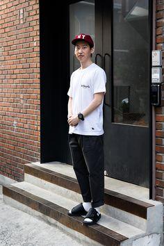 Yoo Seungmin, Street Fashion 2017 in Seoul