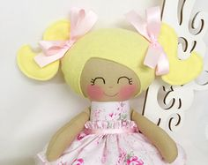 Cloth baby doll Handmade DollsCustom by SewManyPretties on Etsy