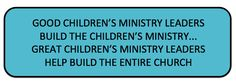 Why You Shouldn't Have a Vision For Your Children's Ministry ~ RELEVANT CHILDREN'S MINISTRY