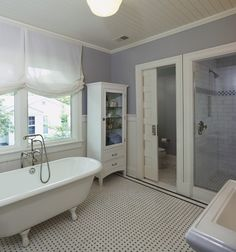 Cambridge MA Historic Renovation Greek Revival House - Historic bathroom remodel