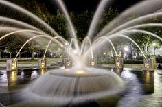 Fountain in downtown Charleston, SC