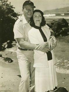 "John Wayne, Elizabeth Allen in ""Donovan's Reef"" (1963). Country: United States. Director: John Ford."