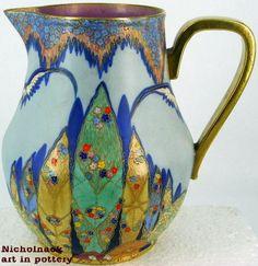 carlton ware | Carlton Ware Fantasia PitcherVintage ART DECO #AY40 - Nicholnack.com ...