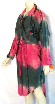 NWT 80s Vintage Hippie Dress