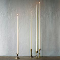 "Tall Taper Pair, 30"" in Entertaining DINING + SERVING Table Candles at Terrain"