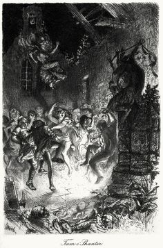 Tam O'Shanter.  William Brassey Hole, from The poetry of Robert Burns vol I, Edinburgh, 1897.