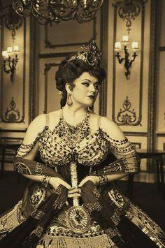 Melanie Gowie as Carlotta Giudicelli - The Phantom of the Opera