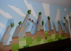 Minecraft mural - Google Search