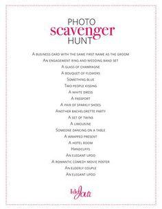 Bachelorette Party scavenger hunt #loverslane