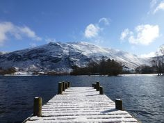 Ullswater and Place Fell Snowy Weather, Fine Hotels, Lake District, Winter Scenes, More Pictures, Perfect Place, Places To See, Countryside, Southern