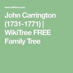 John  Carrington (1731-1771) | WikiTree FREE Family Tree