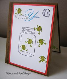 September 22, 2012 by Donna ButternutSageDesign:  Jumpin' Frogs Stampin' Up! Perfectly Preserved, Moving Forward, Memorable Moments